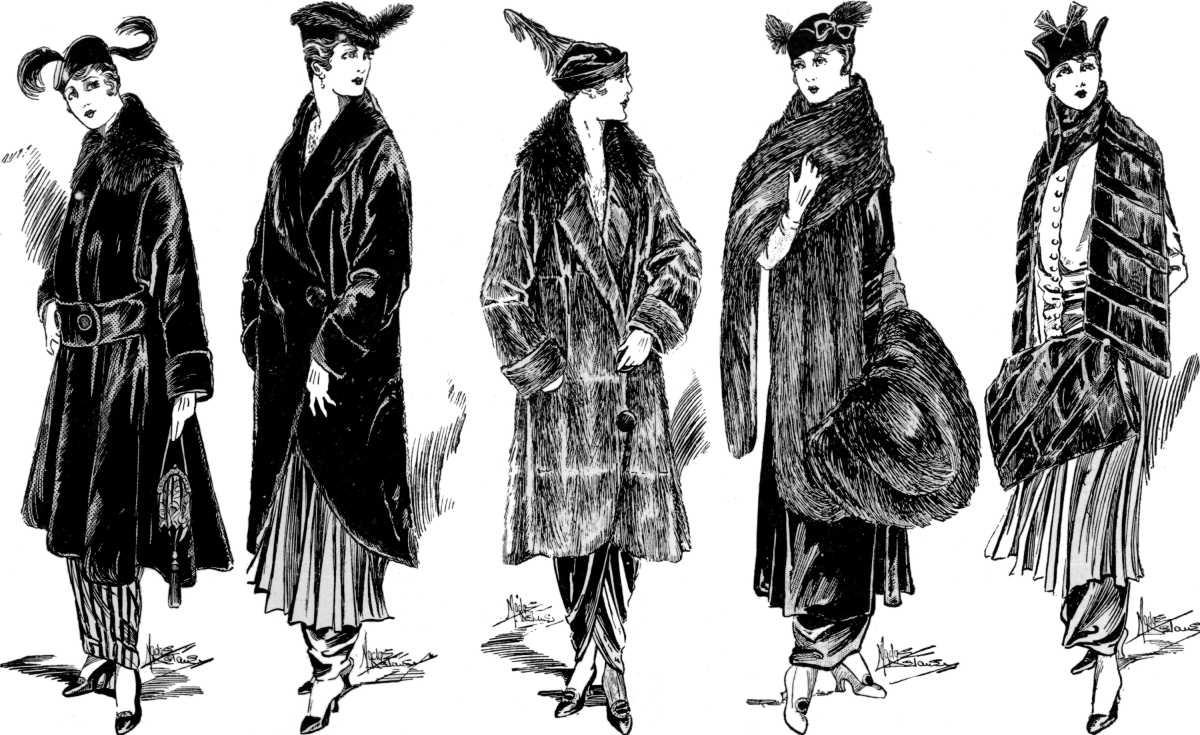 tendencias abrigos piel